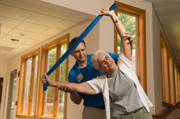 Therapy services for retirement communities
