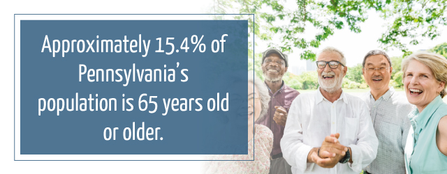 Senior Demographics in PA