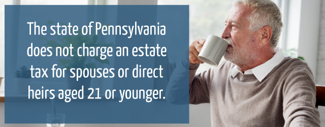 Pennsylvania charge estate tax