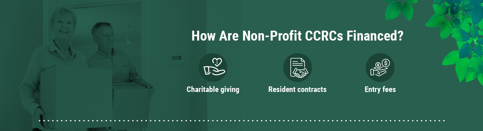 How Are Non-Profit CCRCs Financed?